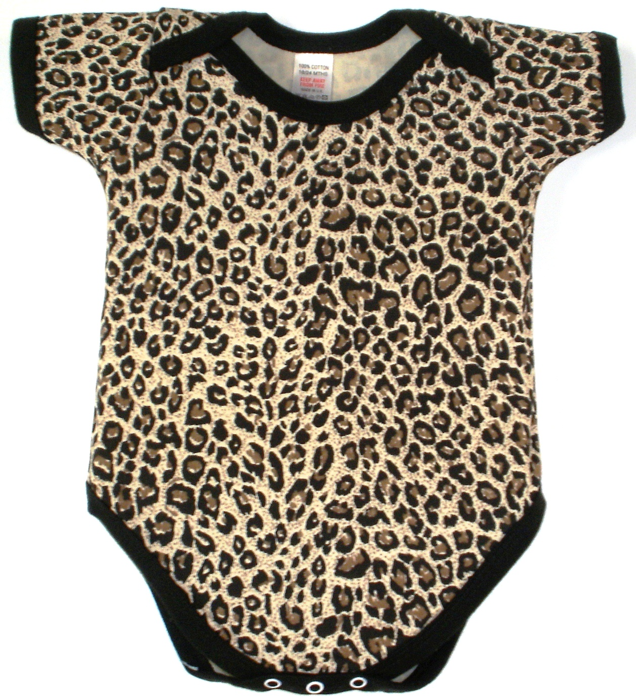 Leopard Print Baby Clothes