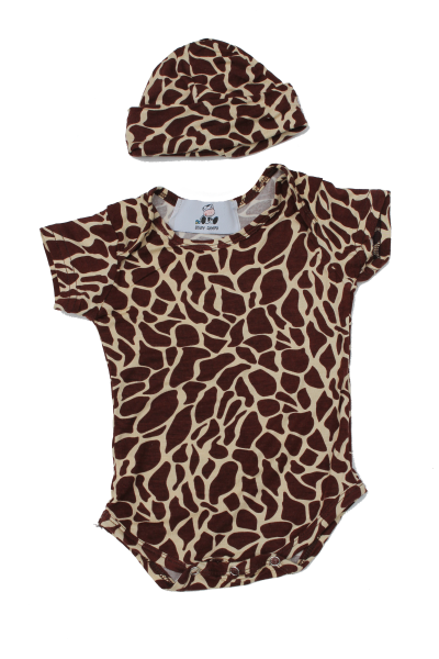Giraffe Baby Clothes, Giraffe Baby Grow