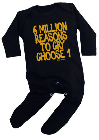 6 Million Reasons to Cry Hip Hop Baby Sleepsuit Clothes