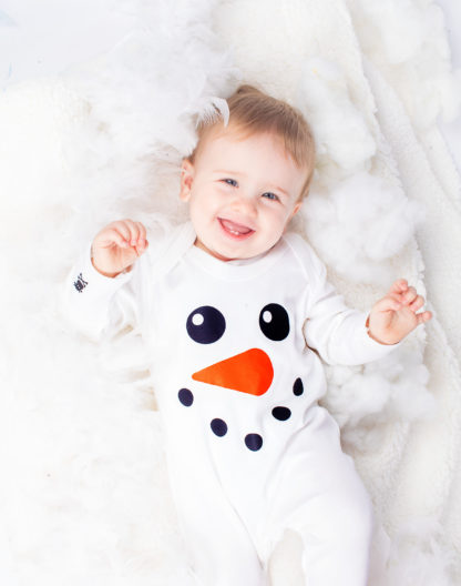 Snowman Baby Outfit