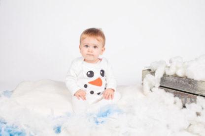 1st Xmas Baby Sleepsuit PJs