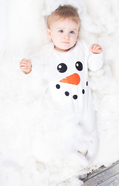 First Christmas Baby Outfit