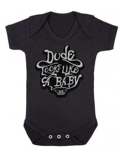 Aerosmith Dude Looks Like A Baby Grow Vest