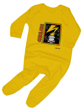 Baby Brains Hardcore Punk Baby Sleepsuit Outfit Bad Brains