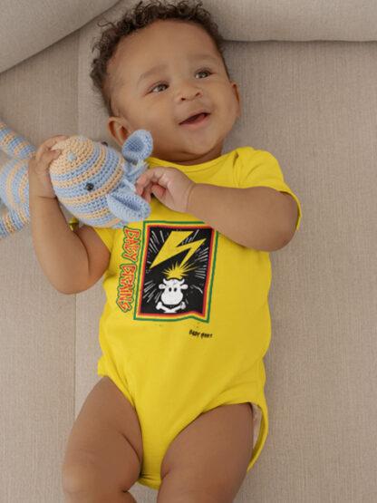 Baby Brains Hardcore Punk Baby Grow Bad Brains Vest Bodysuit