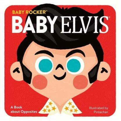 Baby Elvis Board Book Gift Presley