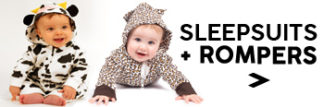 Baby Sleepsuits & Rompers