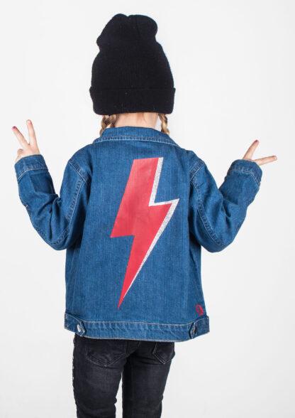 Baby & Kids Denim Jacket David Bowie Clothes