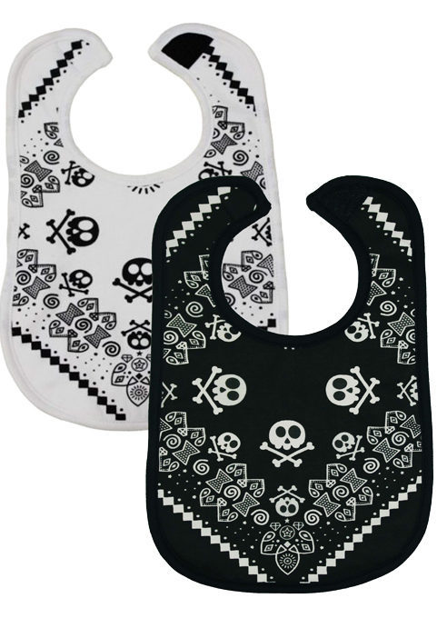 Rock Star Set of 2 Cool Baby Bibs