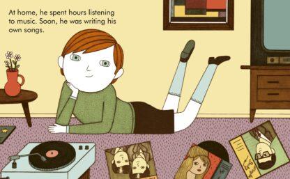 David Bowie Baby Board Book Gift Idea