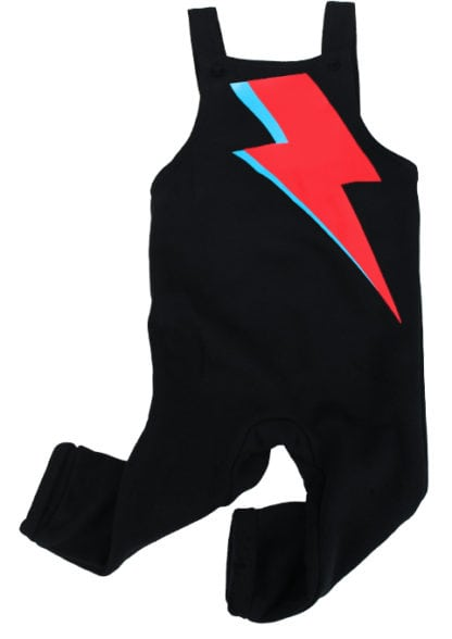 David Bowie Baby Dungarees