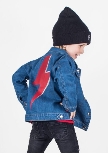 David Bowie Baby & Kids Denim Jacket