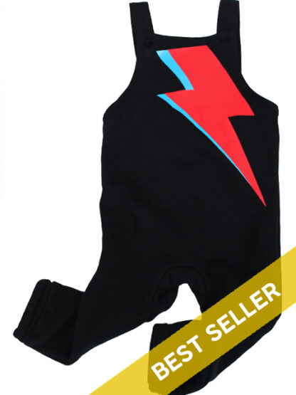David Bowie Baby Dungarees Boy Girl Outfit
