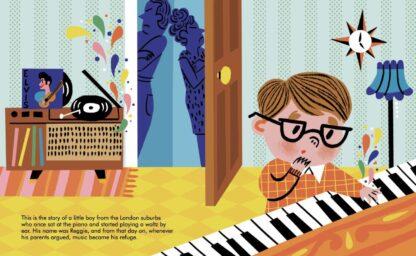 Elton John Music Kids Gift Books