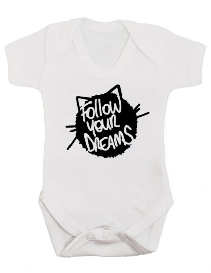 Follow Your Dreams Baby Grow Bodysuit