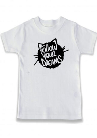 Follow Your Dreams Kids Merch White