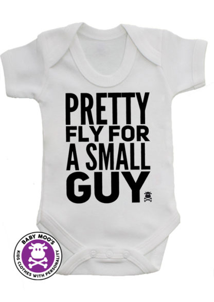 Funky Boys Baby Grow - Monochrome Trendy Baby Boys Vest
