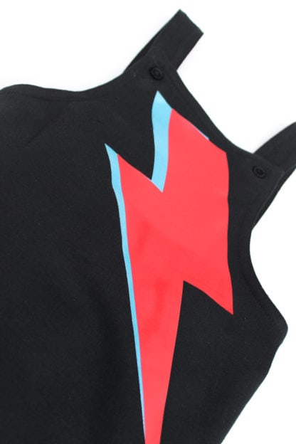 Ziggy Stardust Bowie Kids & Baby Dungaree Outfit