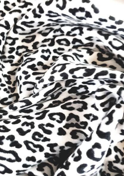Black & White Leopard Print Baby Clothes