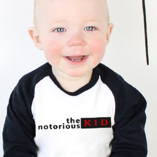 Notorious BIG Kids Clothes Raglan T-Shirt