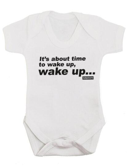 Oasis Wake Up Baby Grow Bodysuit