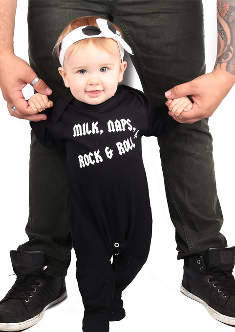 Rock N Roll Baby Clothes Milk Naps Rock Amp Roll