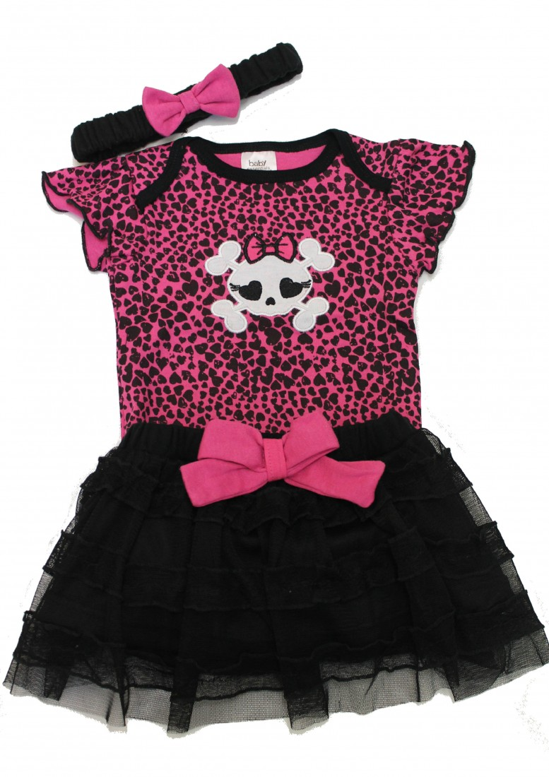 Baby Clothes With Skulls
