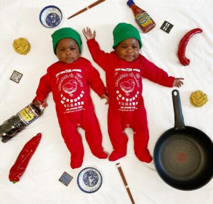 Sriracha Baby Costume Sleepsuit Set