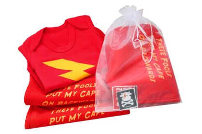 New Baby Gift Set - Flash Superhero Baby Gift Basket