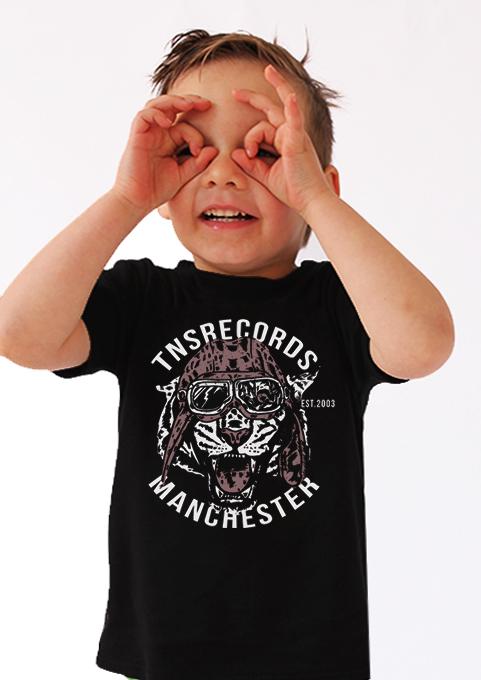 Flying Tiger TNSrecords Kids T-shirt Merch