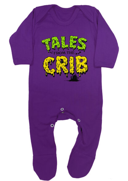 Tales From The Crib Spooky Baby Sleepsuit