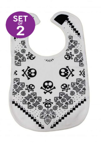 Trendy Baby Bibs Set of 2 Rock n Roll Bibs