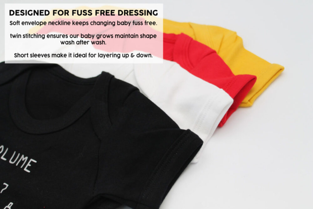 Quality Baby Grow Easy Dressing Vests