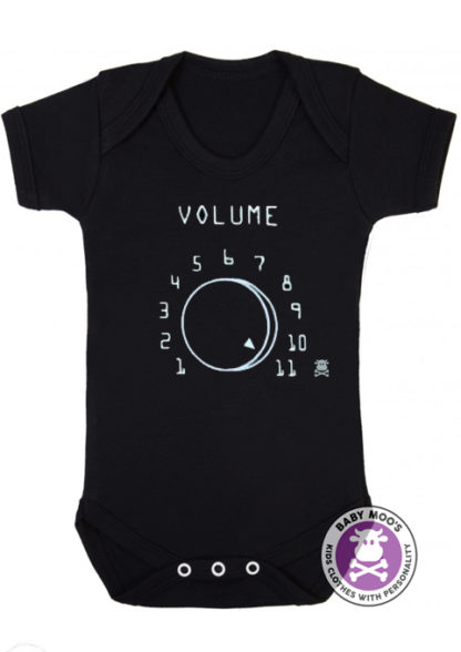 Volume 11 Spinal Tap Inspired Baby Grow Bodysuit Baby Gift