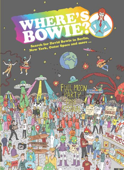 Where's Bowie Kids Book Gift Idea