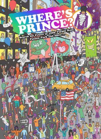 Wheres Prince Kids Book Gift