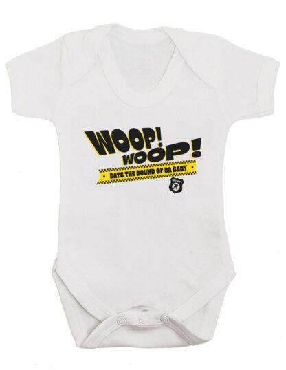 Woop Woop Old School Hip Hop Baby Grow Clothes
