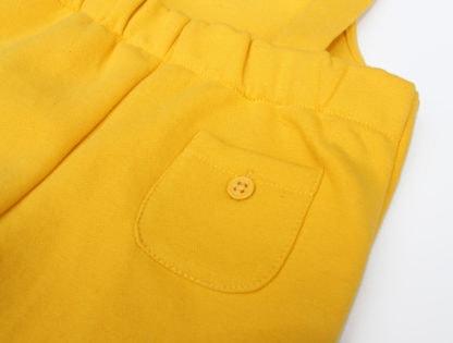Yellow Toddler Dungarees