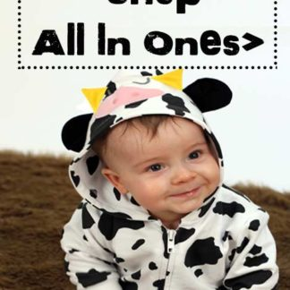 Cute Baby Clothes & Animal Baby Onesies, Funky Animal Print & Cow Baby Clothes & Rompers, Animal Baby Sleepsuit with hood & adorable ears.