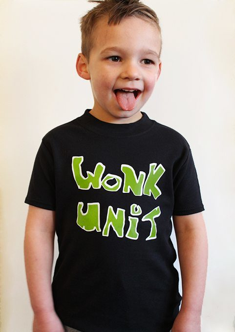 Baby & Kids Band Merchandise T-Shirt - Wonk Unit Kids T-shirt