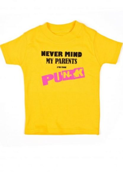 Yellow Punk Baby & Toddler T-Shirts   Funky Funny Baby T-shirt