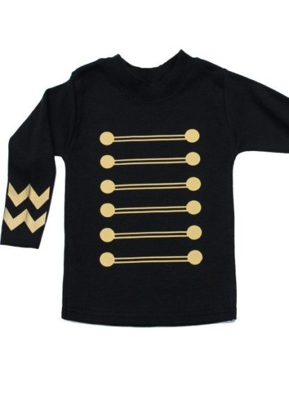 Military Baby Top, Long Sleeved Kids Military T-shirt. Jimi Hendrix Inspired Trendy Kids Top