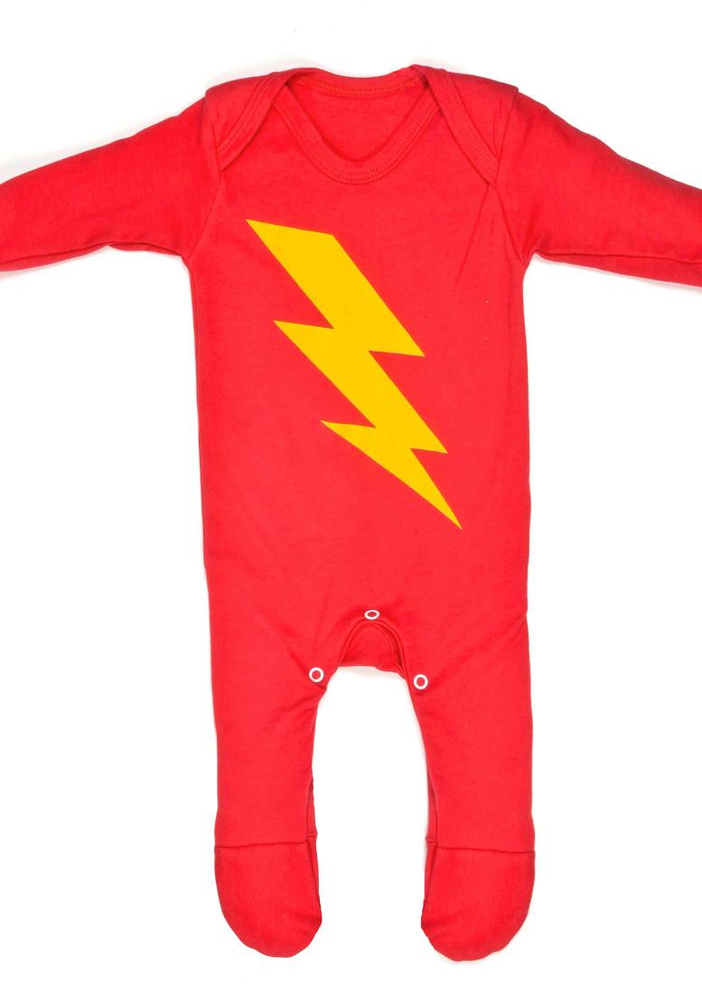 Superhero baby sleepsuit superhero baby clothes uk