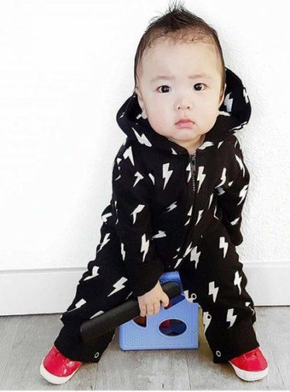 Trendy Monochrome Toddler Onesie