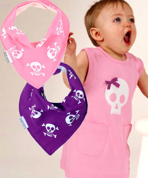 Skull Alternative Baby Girls Gift Set