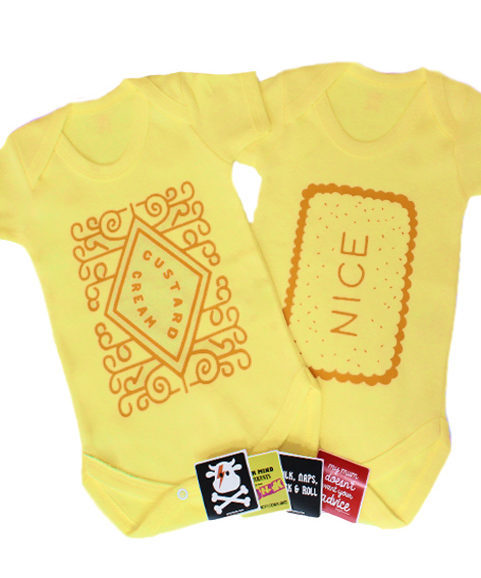 Cute Baby Gift Set, Biscuit Baby Grow Bodysuit Set