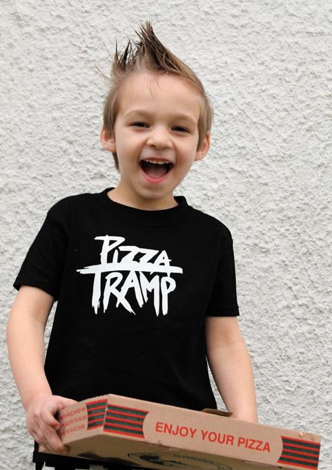 Pizza Tramp Kids T-shirt Merch