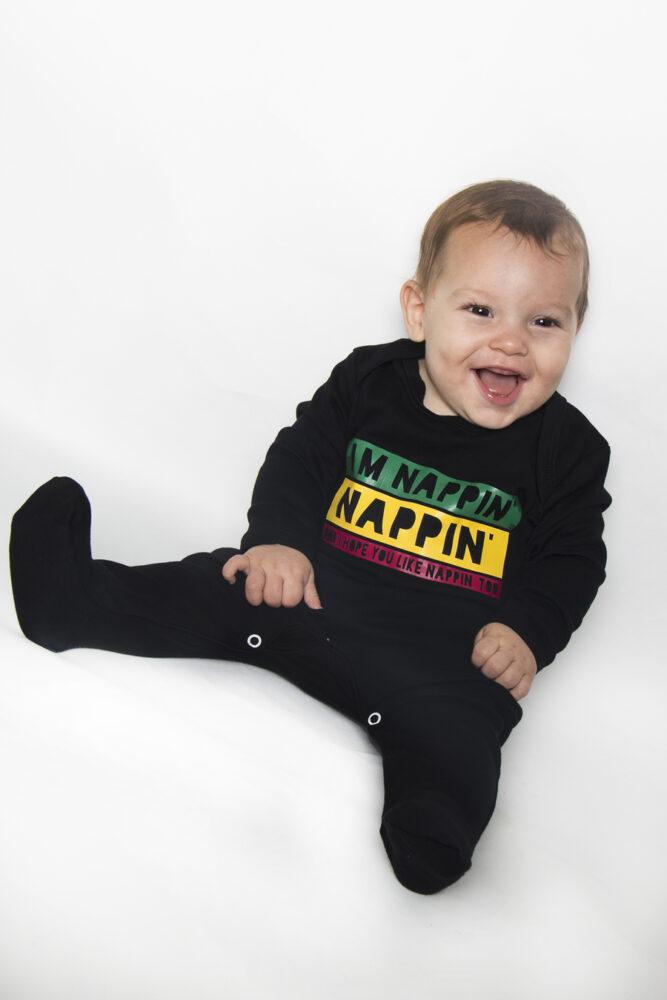 Reggae Baby Clothes Bob Marley Inspired Rasta Sleepsuit