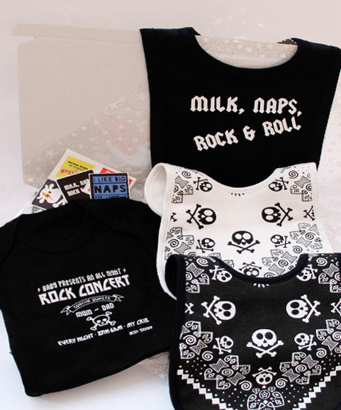Unusual Baby Gift Box, Rock Star Baby Gift Box