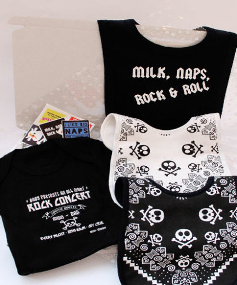 Rock Star Baby Gift Box Unique Rock N Roll Baby Gift Set